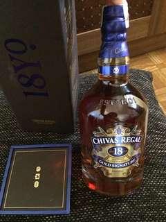 Chivas Regal 18 (ALCOHOLIC)