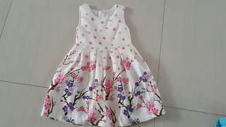 Korean dress new no tag