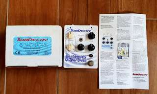 Subdecay Echobox Modulated Delay