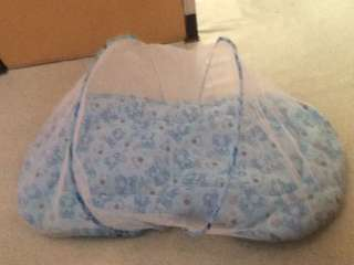 Baby Bed w/ Pillow - Foldable