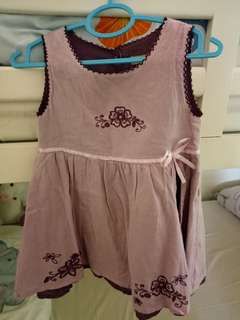 Girl dress hardly worn