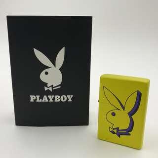HX-T1-CL3  PLAYBOY黃色-兔仔頭公仔 打火機