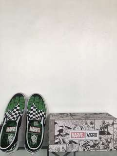 Vans Slip On Checkerboard Marvel (Hulk)