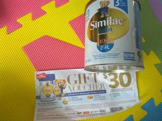 Similac Milk powder stage 3 with $30 voucher