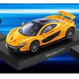 🚚 三大極速超跑 MCLAREN 邁凱倫 跑車 模型 模型車