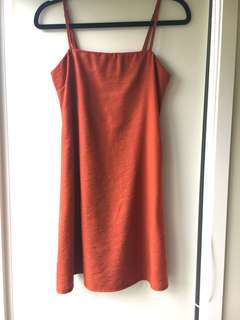 Whitefox boutique terracotta mini dress