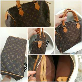 LOUIS VUITTON speedy PRELOVE