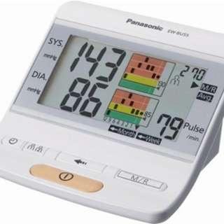全新Panasonic EW-BU55手臂式電子血壓計