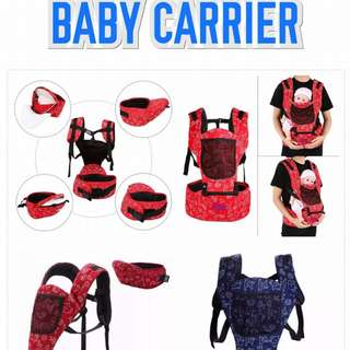 Baby carrier with hipsear