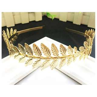 Laurel Leaves Headband