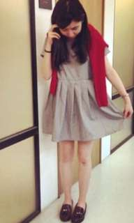 Pazzo 條紋短版洋裝