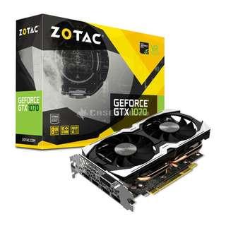 Zotac 1070 mini 85% new