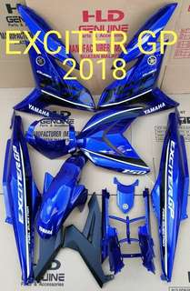Cover set y15zr EXCITER 2018