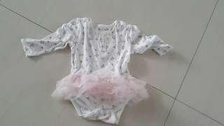 Mothercare Tutu sleepsuit size 12-18m