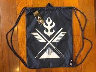 全新Adidas 日本隊JFA運動袋(可以當背囊用)