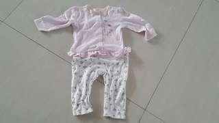 Sleepsuit mothercare sz 9-12m