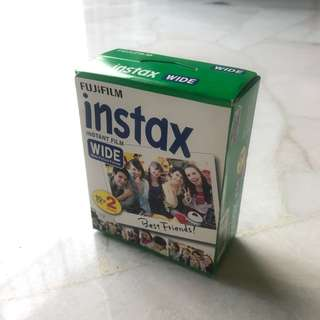 INCLUDE POSTAGE* Instax Wide Instant Film (20 sheets)