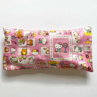 Bean Sprout Husk Pillow / Beanie Pillow , Fabric from 🇯🇵 ( 100% Handmade 100% Cotton , Premium Quality!) Hello kitty Sanrio