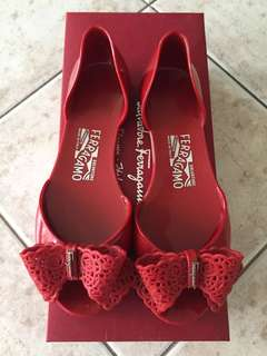 Salvatore Ferragamo Preita Red size 5