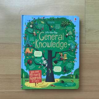 Usborne Lift the Flap - General Knowledge