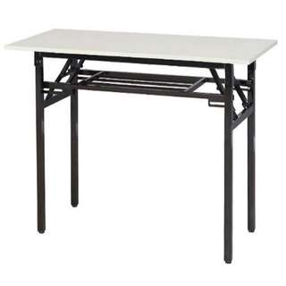 Folding Table, Alulite Training Table, Laptop Table - Light Gray Color