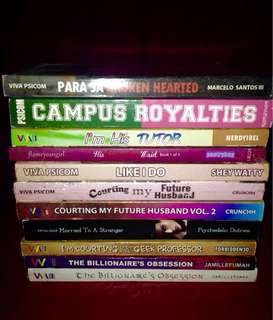 WATTPAD BOOKS FOR SALE!!!!