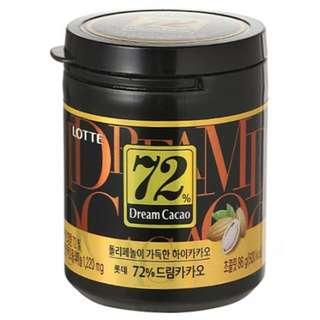 Dream Cacao Chocolate 72% 86g (3 Bundle)