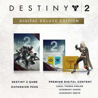 Pc Destiny 2 Digital Deluxe