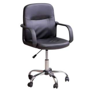midback office leather chair