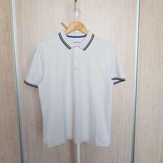 Giordano Kaos Polo Kerah putih