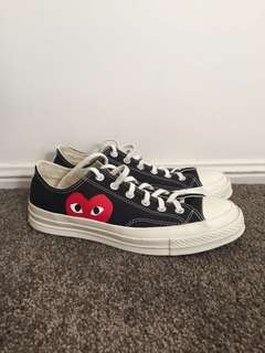 CDG Play x Converse Sneakers