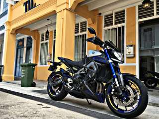 MT09 2015 model (Price dropped)