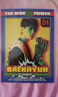 [EXO] BAEKHYUN Power Character card
