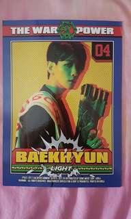 [EXO] BAEKHYUN Power Character card