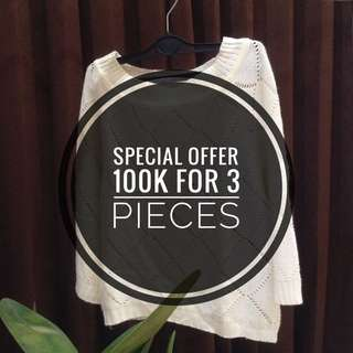 100k for 3pieces!!