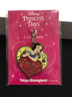 東京迪士尼白雪公主吊飾