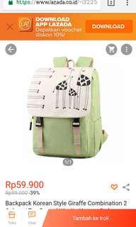 Backpack Wanita/Anak