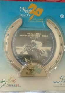 香港賽馬會130週年 馬蹄鐵相架