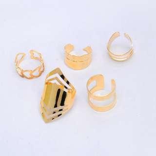 5Pcs Ring Set