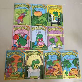 $5 for 10 dinopals phonic story books