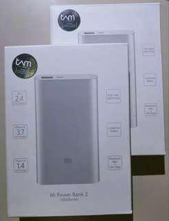 Mi Power Bank 2 10.000 mAh / Powerbank Xiaomi