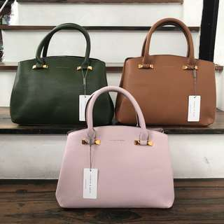 Authentic Charles & Keith Top Handle Bag