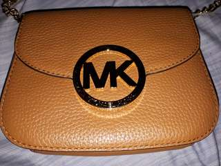 Authentic and Original Micheal Kors Leather Crossbody Bag