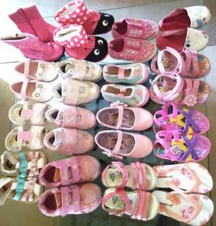 Preloved Toddler Shoes@Php50 each only