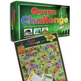 ISLAMIC BOARD GAME Quran Challenge Islam Education - English