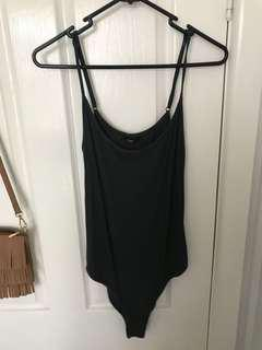 Khaki/olive green bodysuit