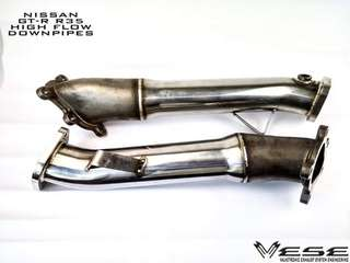 Nissan GT-R R35 High Flow Down pipes