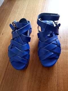 ACNE sandals blue 38