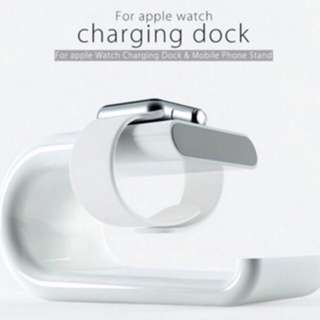Apple Watch charging dock stand station