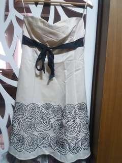 Tahari White Cocktail Dress